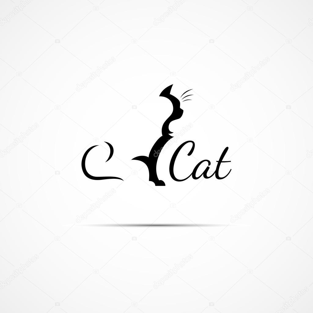 Cat Logo Stock Vector C Jazzzzzvector 66176717