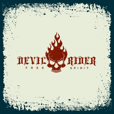 Devil rider label