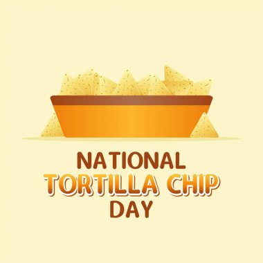 National Tortilla Day Vector Illustration. Suitable for Greeting Card, Poster and Banner. icon