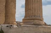 Fotografia Acropoli, dettagli dellarchitettura, Grecia
