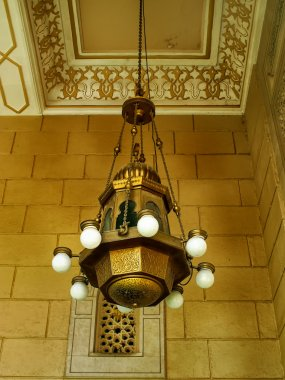 Chandelier in Jumeirah Mosque, Dubai