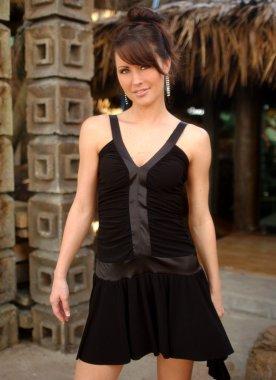 Black Dress - Professional Model - Nice Background