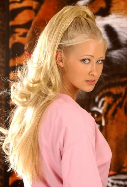 Pretty Pink - Stunning Blonde - Sultry Look