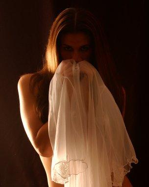 Sexy nude bride