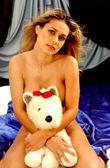 r-értékelt hallgatólagos topless - mackó a piros orr
