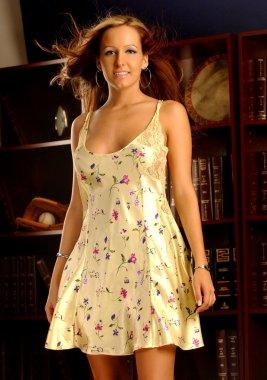 Playboy Model Jessica Barton - Yellow Slip