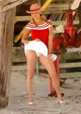 Cheerleader - Cowgirl - Upshirt - All American Gal