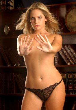 Blonde Professional Model