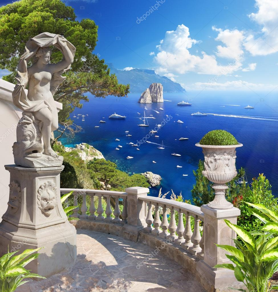Mediterranean landscape. Panorama.