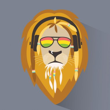 Lion reggae symbol
