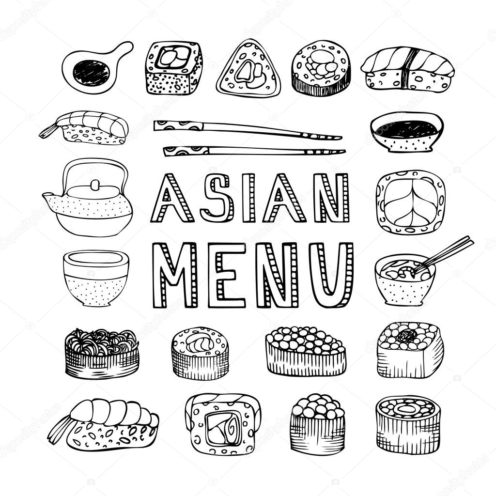 Asian menu poster — Stock Vector © Jly19 #105217720