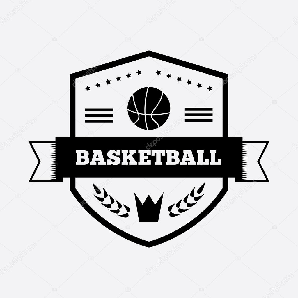Basketball logo design vector the image for Jim beam signature craft for sale