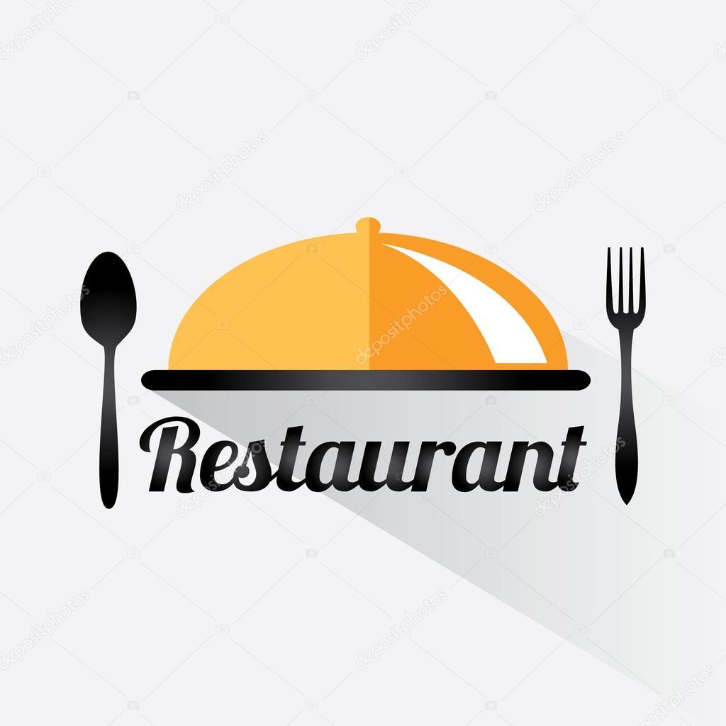 Restaurace logo design — stock vektor jly