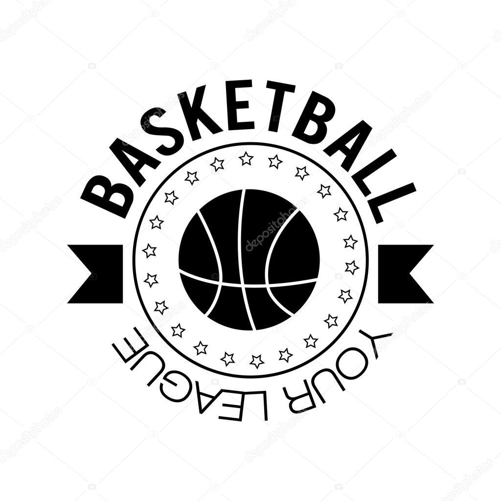 basketball logo design stock vector jly19 118423368