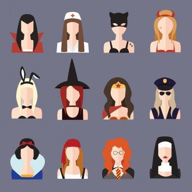 Halloween girl set