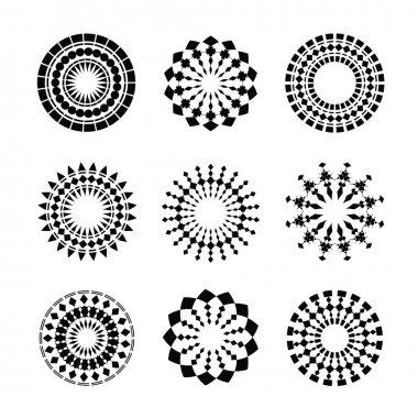 Circle tribal ornament