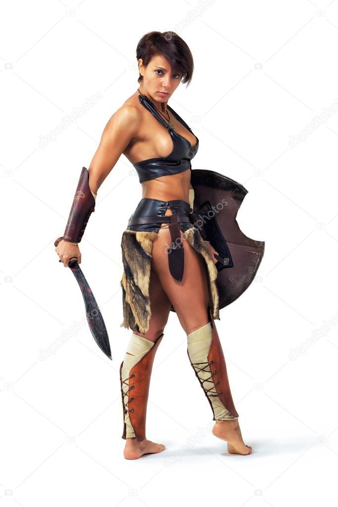naked warrior women photo