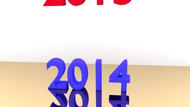 Psaní 2014 je zničen pádem 2015