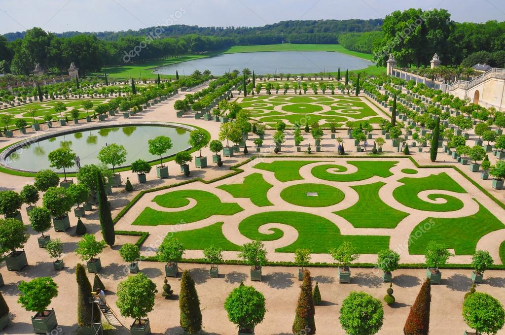 Versailles Tuin Parijs Stockfoto Olleke 75841945