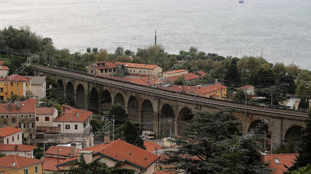 Beautiful view of italian amalfi