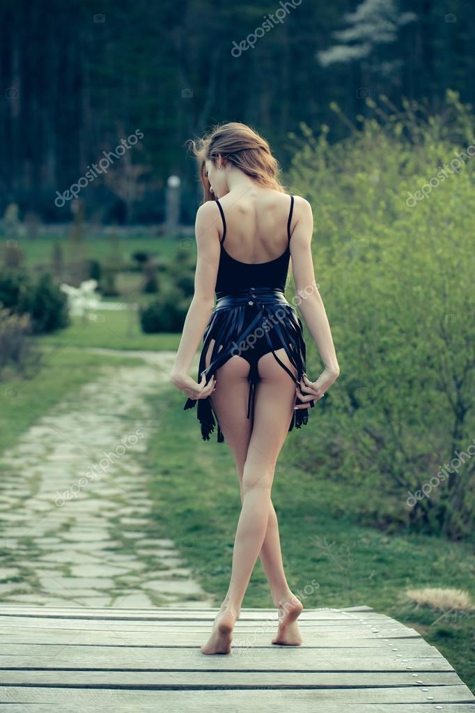 Sexy women barefoot