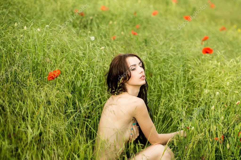 Into naked in the grass pics aunties sex