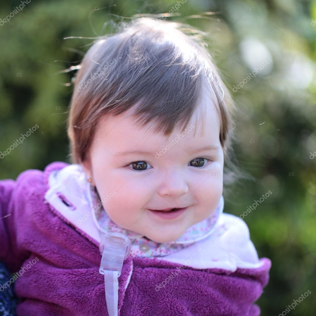 pretty baby girl — stock photo © tverdohlib #118753268