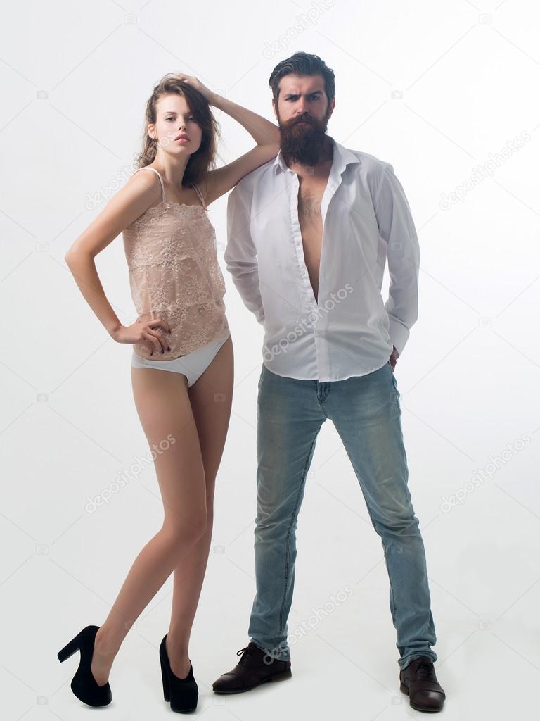 sexy girl sexy man
