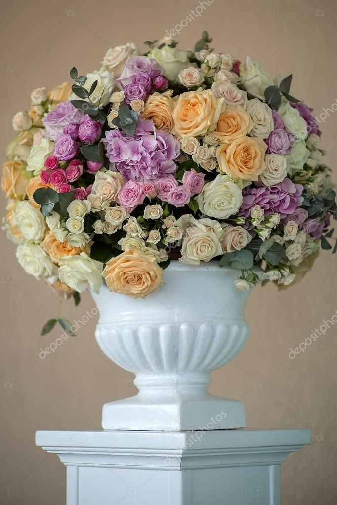 Decorative posy of flowers