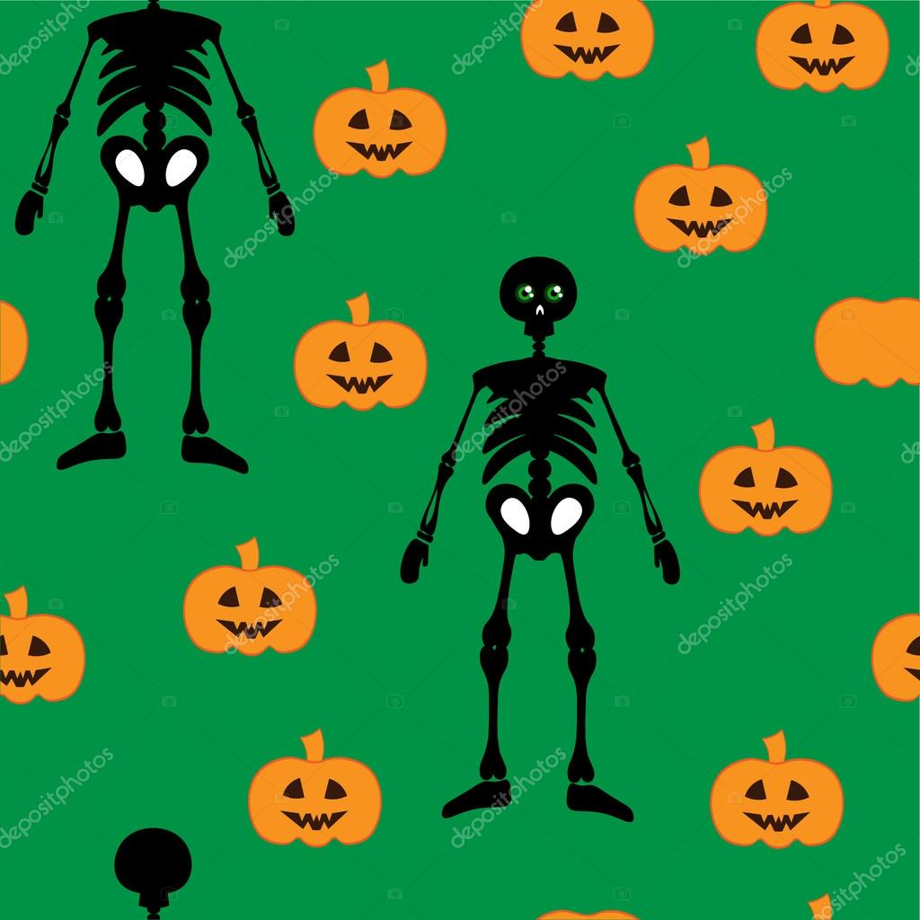 Most Inspiring Wallpaper Halloween Skeleton - depositphotos_86554932-stock-illustration-wallpaper-skeleton-pumpkin  Photograph_81521.jpg