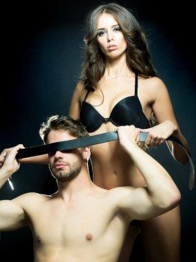Adult sensual couple