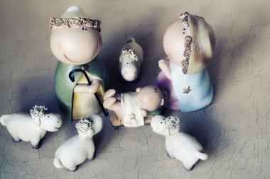 Jesus birth scene