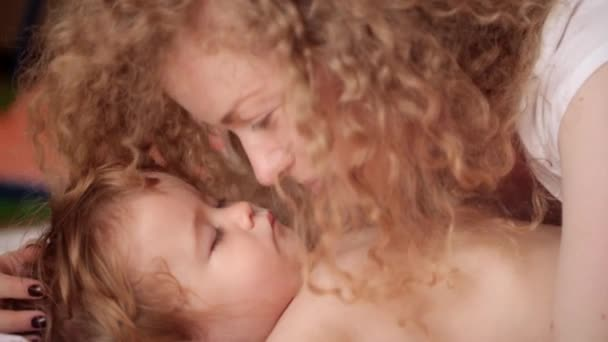childrens sleep, mother and child, the joy of motherhood, healthy sleep, tenderness, kindness and care