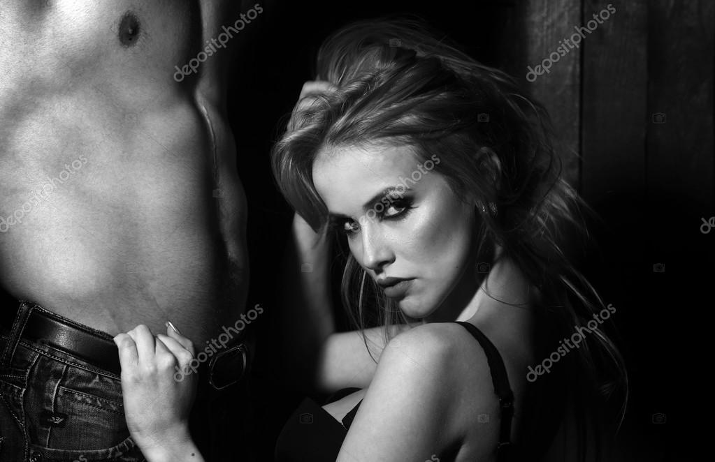 Couple Nu couple nu sexuelle — photographie tverdohlib © #94093940