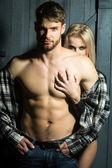 Fotografie sexuelle junges Paar