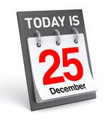 25. prosince kalendář