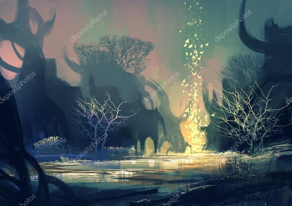 Фотообои fantasy landscape