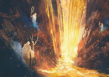 mystic  lava cave