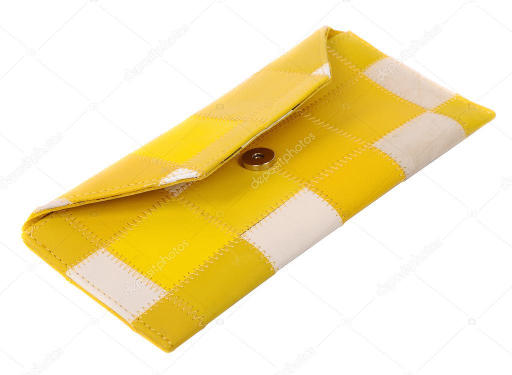 1f8d8b2293 κίτρινο δερμάτινο τσαντάκι — Φωτογραφία Αρχείου © sayvon  70081871