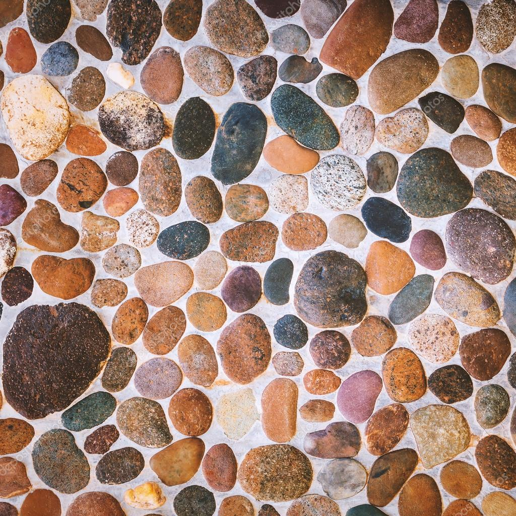 stone floor tile texture. Pebble Stone Floor Tile Texture  Stock Photo Jpkirakun 119301062