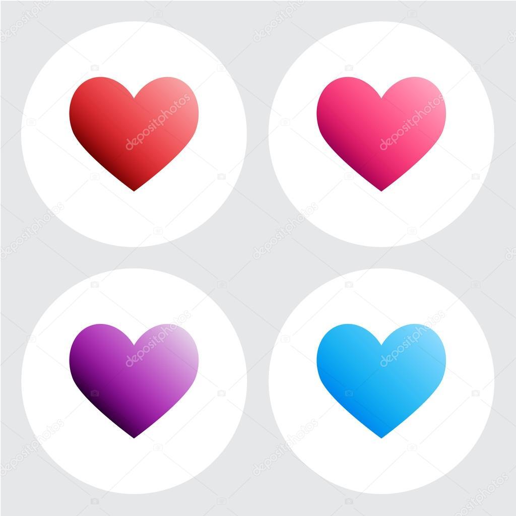 Love Icon Heart Sign Symbol Stock Vector Jpkirakun 95956598