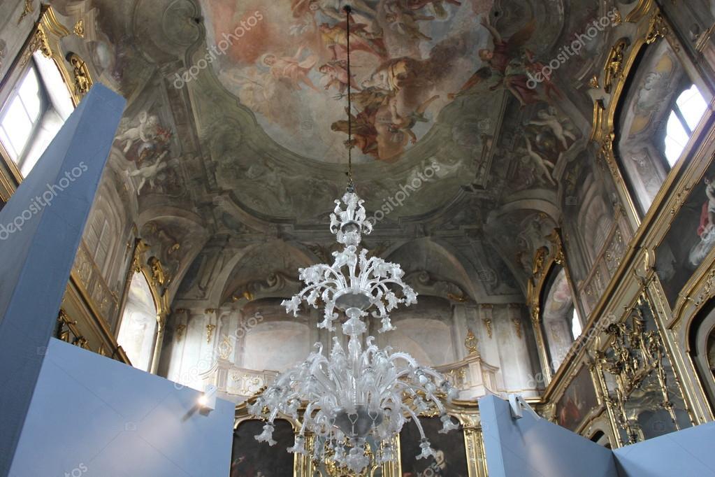 Kronleuchter Palazzo ~ Zimmer des palazzo litta in mailand decke mit fresken und ein