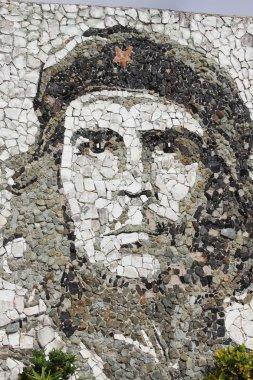 Che Guevara stone mosaic