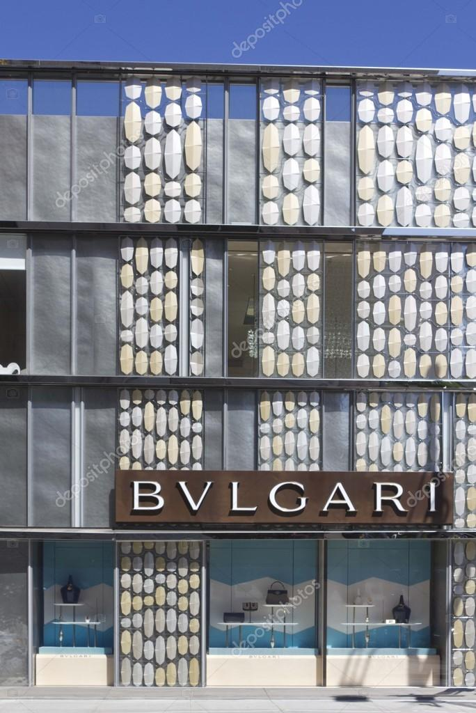 a8d8631b617 Bulgari shop in the famous Rodeo Drive – Stock Editorial Photo ...