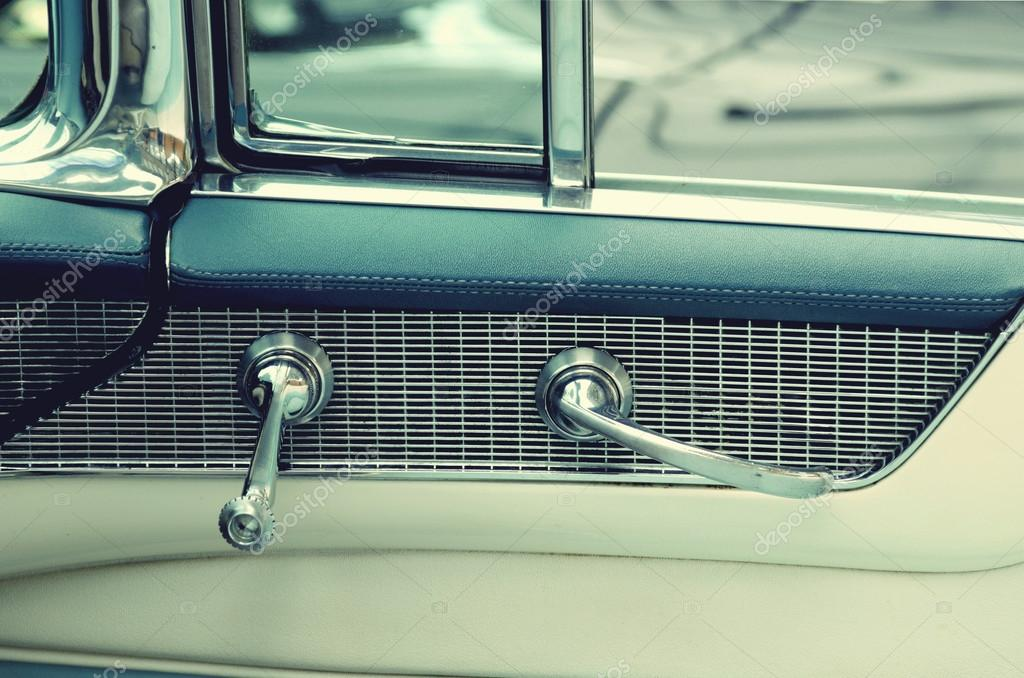 vintage car door handles door handles in vintage cars retro car elegance photo by andrijter stock