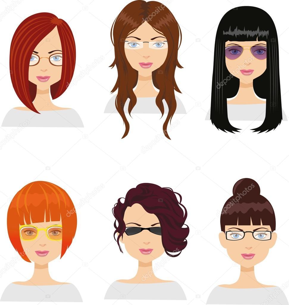 Tagli capelli e occhiali