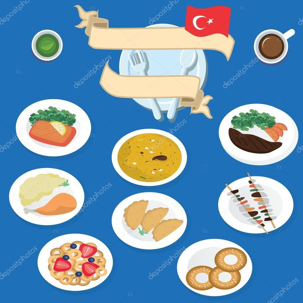 Türkische Küche: Kebab, Döner, Hähnchen. Halal-Lebensmittel ...