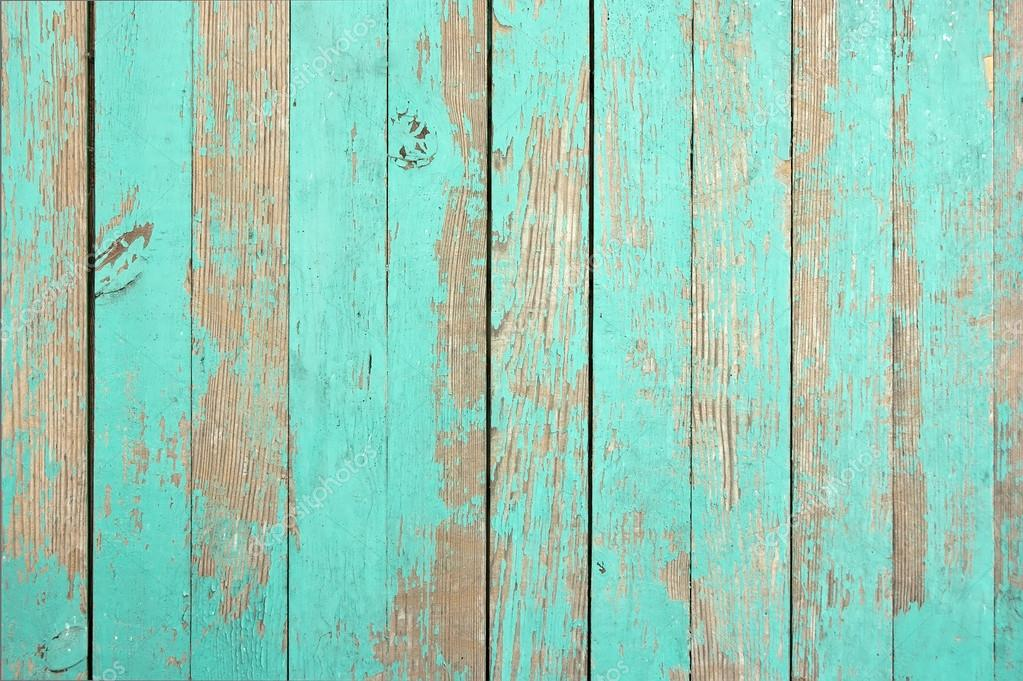 Wooden Texture Aqua Color For The Background Image