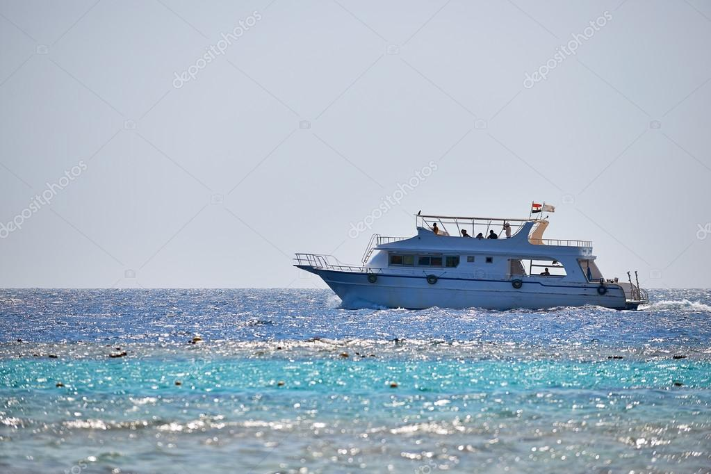 Boat on Red Sea