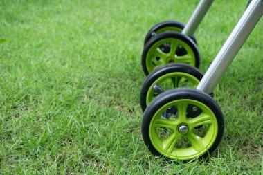 Detail of stroller for child